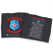To Protect And Serve Microfiber Cloth - Personalization Available