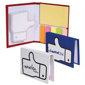 Thumbs-Up Sticky Book - Personalization Available