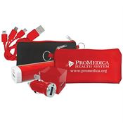 Ultimate Colorful Power Bank Set - Personalization Available