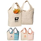 Inspirations Reversible Cotton Tote - Personalization Available
