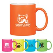 Neon Mug with C-Handle 11-oz. - Personalization Available