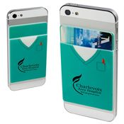 Nurse Silicone Mobile Device Pocket - Personalization Available
