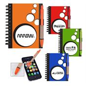 Mini SpotLight Notebook and Stylus Pen - Personalization Available