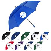 The Vented Typhoon Tamer™ Umbrella - Personalization Available