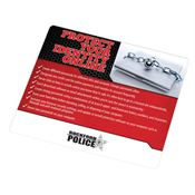 Protect Your Identity Online Mousepad - Personalization Available