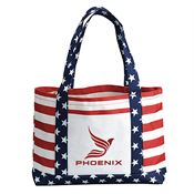Stars & Stripes Open Tote Bag - Personalization Available