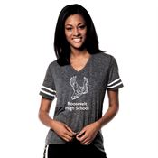 Adult Sporty Slub Tee - Personalization Available