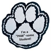 Paw Print Spirit Emblem - Personalization Available