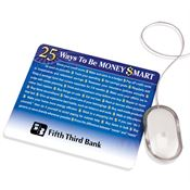 25 Ways To Be Money Smart Mousepad - Personalization Available