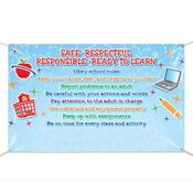 Safe, Respectful, Responsible, Ready To Learn Banner