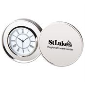 Platinum Coin Clock - Personalization Available