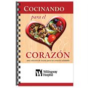 Cocinando Para El Corazon Recipe Cookbook (Spanish) - Personalization Available