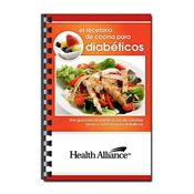 El Recetario De Cocina Para Diabeticos Recipe Cookbook (Spanish) - Personalization Available