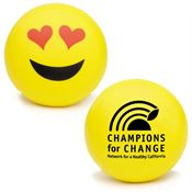 I Love You Emoji Squeezies® Stress Reliever - Personalization Available