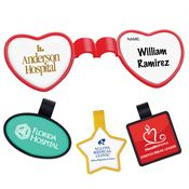 Anti-Microbial Shaped Stethoscope ID Tag - Personalization Available