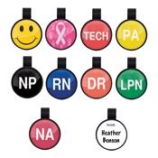 Anti-Microbial Position/Theme Stethoscope ID Tags
