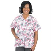 Ladies' Words Of Inspiration Scrub Top