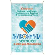 Environmental Services: A Team You Can Count On 6' X 4' Indoor/Outdoor Vinyl Banner