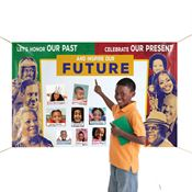 Let's Honor Our Past, Celebrate Our Present And Inspire Our Future 5' x 3' Vinyl Banner