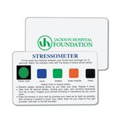 Stress-O-Meter Card - Personalization Available