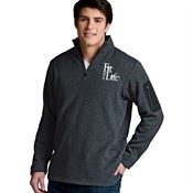 Charles River Apparel® Men's Heathered Fleece Pullover - Embroidery Personalization Available