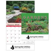 2018 Gardens Wall Calendar - Personalization Available