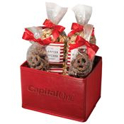 Popcorn & Pretzel Gift Set - Personalization Available