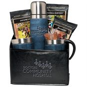 Casablanca™ Thermos, Cups & Boca Java® Coffee Set - Personalization Available