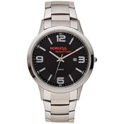 Farris Stainless Steel Men's Watch - Personalization Available