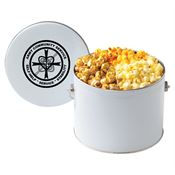 Half Gallon Popcorn Tin - Personalization Available