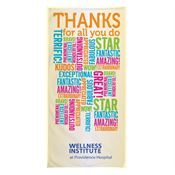 Thanks For All You Do Beach Towel - Personalization Available