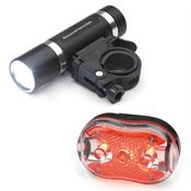 Bicycle Headlight And Tailight Set - Personalization Available