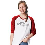 Bella + Canvas® Unisex 3/4 Sleeve Baseball Tee - Personalization Available
