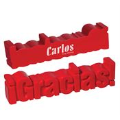 Gracias Word-Tastic Stress Reliever - Personalization Available