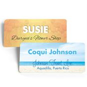 Rectangle Name Badge - Personalization Available