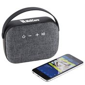 Woven Fabric Bluetooth® Speaker - Personalization Available