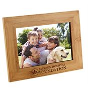 Bamboo Photo Frame - Personalization Available