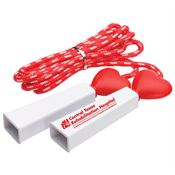 Heart Fitness Jump Rope - Personalization Available
