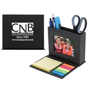 Desk Caddy With Photo Window - Personalization Available