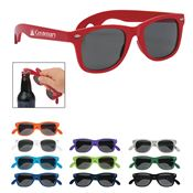 Bottle Opener Malibu Sunglasses - Personalization Available