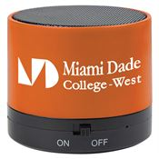 Wireless Mini Cylinder Speaker - Personalization Available