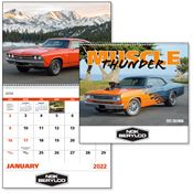 Muscle Thunder 2019 Calendar - Spiral - Personalization Available