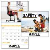 Safety 2019 Calendar - Spiral - Personalization Available
