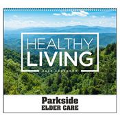 Healthy Living 2019 Calendar - Spiral - Personalization Available