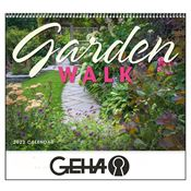 Garden Walk 2019 Calendar - Spiral - Personalization Available
