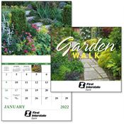2019 Garden Walk Wall Calendar - Stapled - Personalization Available