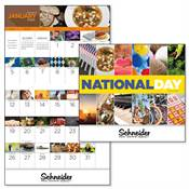 National Day 2019 Calendar - Stapled - Personalization Available