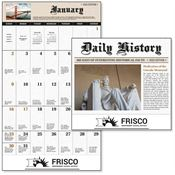 Daily History 2019 Calendar - Stapled - Personalization Available