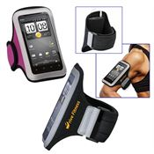 Universal Sport Armband With Small Size Cellphone Pouch - Personalization Available