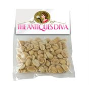 Large Candy Bag With Header Card And Peanuts - Personalization Available